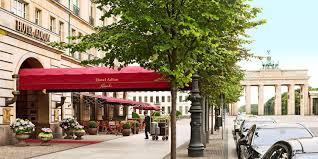 Esszimmer Adlon Hotel Adlon Kempinski Travelzoo