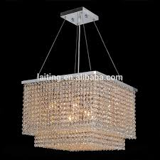 Crystal Drops For Chandeliers Square Modern Crystal Chandelier Square Modern Crystal Chandelier