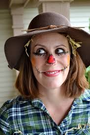 Womens Scarecrow Halloween Costume Scarecrow Makeup Women Scarecrow Costume Halloween Costume