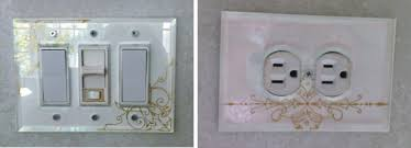 clear light switch cover clear glass switchplates beveled glass switch plates glass