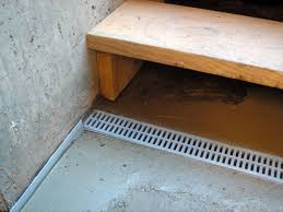 New Basement Floor - basement french drain in basement u2014 new basement ideas system
