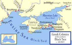 Greece On The Map by File Ancient Greek Colonies Of N Black Sea Png Wikimedia Commons