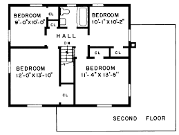 cape cod house floor plans house plan 43091 at familyhomeplans com