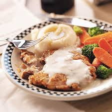 makeover country fried steak recipe taste of home