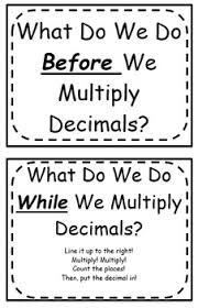 multiplying decimals multiplying decimals foldable flippable by aleisha boehm tpt