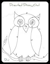 spittin toad kids art drawing owls