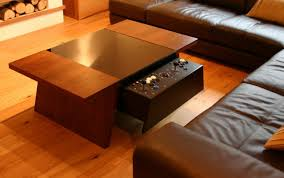 pull out coffee table 27 incredible man cave coffee tables inside pull out table ideas 2
