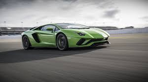 Lamborghini Aventador Green And Black - lamborghini aventador s debuts with more power rear wheel steering