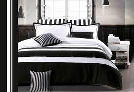White Stripe Duvet Cover Black And White Duvet Covers Smoon Co