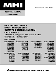 mitsubishi heavy industries 00 ghp t 055a ghp thermostat heat pump