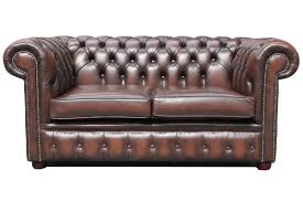 Modern Brown Leather Sofa Appealing Brown Modern Chesterfield Sofa Interior Design Feature