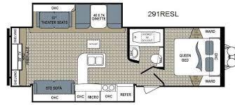 best travel trailer floor plans used 2015 dutchmen rv kodiak 291resl ultimate travel trailer at dick