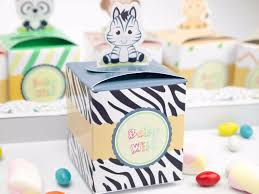 baby shower favors for boy 12pcs baby shower favors safari animal favor box candy box