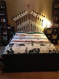 hockey bedrooms hockey bed white bed