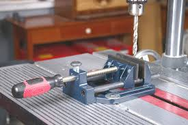 Mounting A Bench Vise Shopsmith Quick Acting Combination Bench And Drill Press Vise