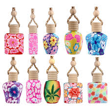 online get cheap accessories fragrance aliexpress com alibaba group car interior styling air freshener the original eco car fragrance bottle polymer clay china