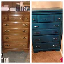 Repurposed Furniture Before And After by My Before And After Transformation Of My Dresser Being Redone
