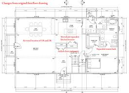 floor plan for new homes ideas 30x40 barndominium floor plans design ideas with wooden end