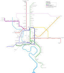 Metro Route Map by About Bts Bangkok Thailand Airport Map Detail Bangkok Bts