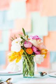Spring Flower Bouquets - flower power how to create a colorful diy spring bouquet paper