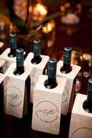 wine bottle wedding favors 7 wine wedding favors we