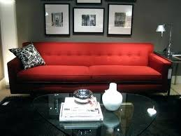 red leather sofa living room ideas red sofa living room ideas home decoration