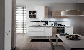 cuisine moderne italienne cuisine moderne italienne blanche et bois