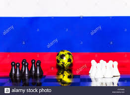 Russian Flag Black And White Soccer Ball Flag Russia In Stock Photos U0026 Soccer Ball Flag Russia