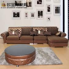 Classic Leather Sofa by Sofa Sala Set Luxury Livingroom Furniture Italy Leather Sofa