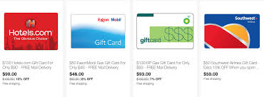 gas gift card deals save on gift cards for hotels exxon and bp doctor of credit