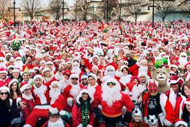 six things to know about new york city u0027s santacon 2015 eater ny