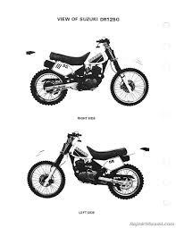 1986 u2013 1988 suzuki dr125 sp125 service manual by repairmanual com