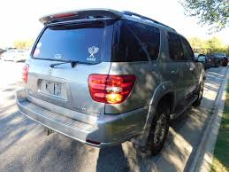 2004 used toyota sequoia 4dr sr5 4wd at toyota of fayetteville