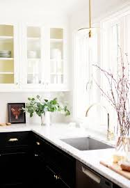 black kitchen cabinets with black hardware black kitchen cabinets with gold pulls contemporary kitchen