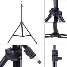camera copy stand with lights universal 1 4 head studio light flash speedlight umbrella stand