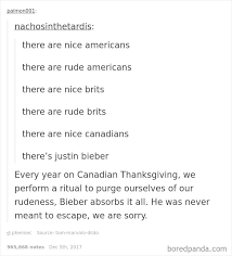Thanksgiving Memes Tumblr - 30 times canadians were a complete mystery to the rest of the world