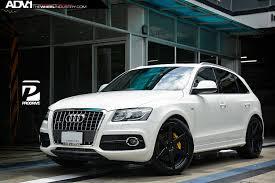 audi q5 rims and tires audi q5 adv6mv2 matte black matte black wheels adv 1 wheels