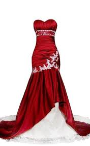 Red And White Wedding Dresses Traditional Pagan Wedding Dresses