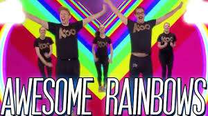 koo koo kanga roo awesome rainbows dance a long video youtube