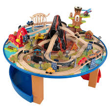 amazon com kidkraft dinosaur train table model building kit toys