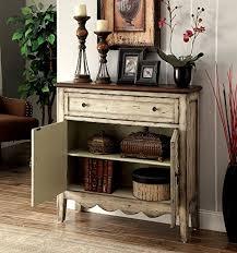 antique white storage cabinet gladen vintage style storage cabinet antique white brown vintage