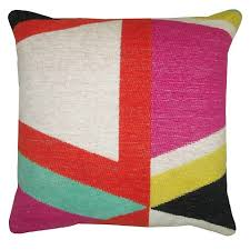 target black friday threshhold threshold yarn dyed pillow multi colored 18