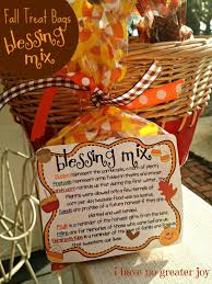 treat bags blessing mix it s all fall blessings