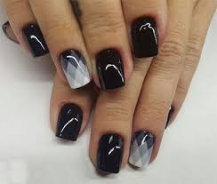 Black Manicure Designs 18 Awesome Winter Black Nails Designs Ideas 2016 2017