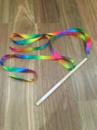 ribbon wands best 25 rainbow ribbon ideas on baby learning ideas