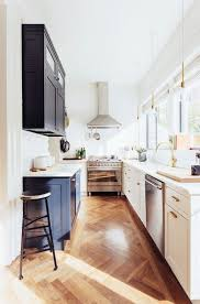 ideas for narrow kitchens 31 stylish and functional narrow kitchen design ideas digsdigs
