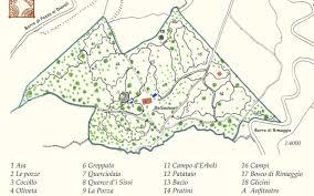 Tuscany Italy Map Cavriglia Holiday Rental Giardino Del Belvedere Located Tuscany