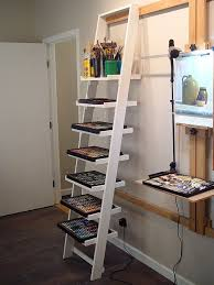 Best 25 Ladder Shelf Decor by Best 25 Wall Ladders Ideas On Pinterest Old Ladder Shelf Ladder