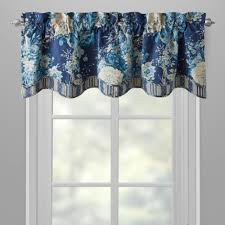 Curtain Box Valance Curtains Waverly Window Valances Curtain Swag Yellow And Grey