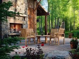 Patio Fireplace Kit by Decor U0026 Tips Amazing Outside Fireplace For Patio Ideas U2014 Fotocielo